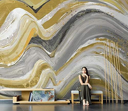 HUATULAI fotobehang fotobehang wandbehang zonder naden in het midden Nordico Del Sofà uit het fotobehang van de TV Del Salone uit de structuur van het kunstwerk voor de schoen 430 * 300cm/W*h