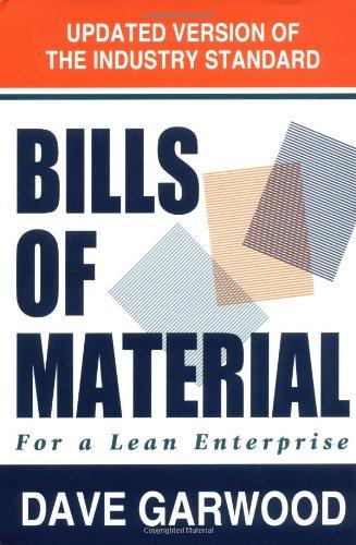 Bills of Material for a Lean Enterprise