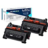 LCL Compatible Toner Cartridge Replacement for HP 90A CE390A Laserjet Enterprise 600 M601DN M601N M602 M602DN M602N M602X M603 M603DN M603N M603XH M4555 M4555DN M4555F M4555FSKM M4555H (2-Pack Black)