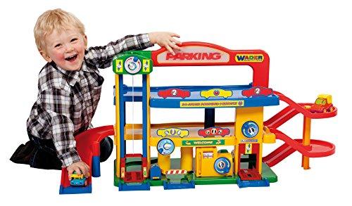 Wader Quality Toys Premium Garage No. 1 mit Autos