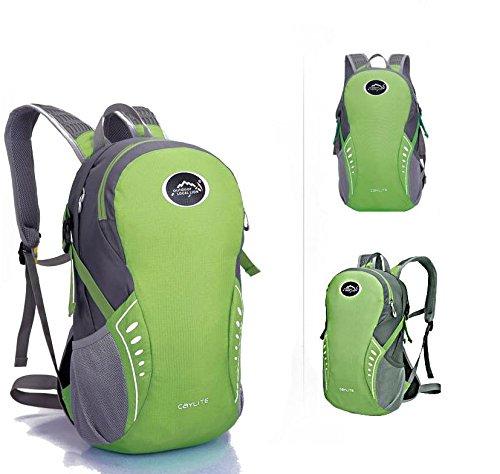 Extérieur élégant portable sac à dos sac à dos sac à dos de vélo , army green