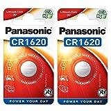 Panasonic 2 x cr1620 1620 baterías de Litio de 3v