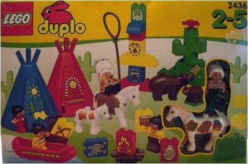 LEGO Duplo 2436 - Indianerdorf [Spielzeug]