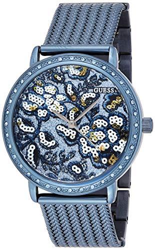 Guess Dames analoog kwarts horloge met roestvrij stalen armband W0822L3