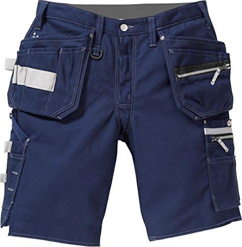 Fristads 116701 Kansas Workwear Craftsman Arbeitshose Gr. 30W x 32L, dunkles marineblau