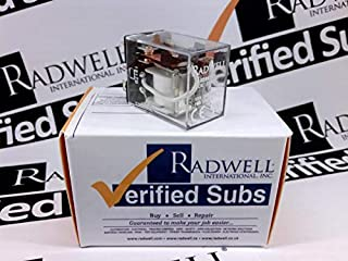 RADWELL VERIFIED SUBSTITUTE HL2P24VDCSUB Relay - 24VDC, 10A 2PDT Plug in Relay- Replaces AROMAT PN: HL2P24VDC