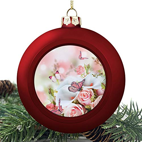 SUPNON Bouquet for The | Christmas Ball Ornaments 2020 Christmas Pendant Personalized Creative Christmas Decorative Hanging Ornaments Christmas Tree Ornament №SW161684