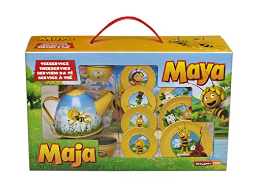 Studio 100 MEMA00001680 - Die Biene Maja Teeservice, 14-teilig