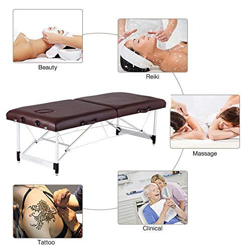 YZT QUEEN massagebed, optioneel vierkleurig multifunctioneel opvouwbaar massagebed met instelbare hoogte, geschikt voor Spa-clubs, vrouwenclubs, schoonheidssalons enz.