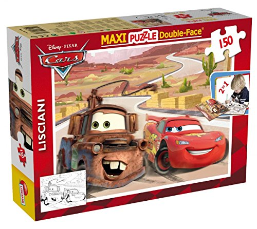 Lisciani Giochi Disney Puzzle Supermaxi 150, Cars
