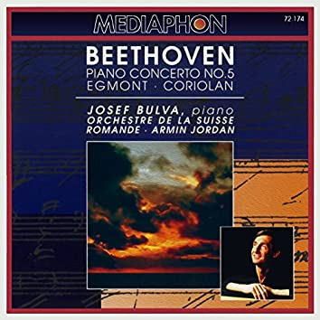 Beethoven: Piano Concerto No. 5 & Egmont and Coriolan Overtures