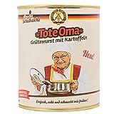 6er Set Original Schulküche 'Tote Oma' Grützwurst mit Kartoffeln - DDR Produkte