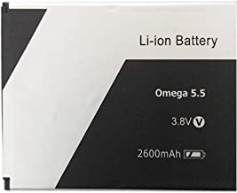 Screencart 100% New Replacement High Backup Compatilble Mobile Battery/Batteries for Xolo Omega5.5 (Check Your Old Battery Model Properly)