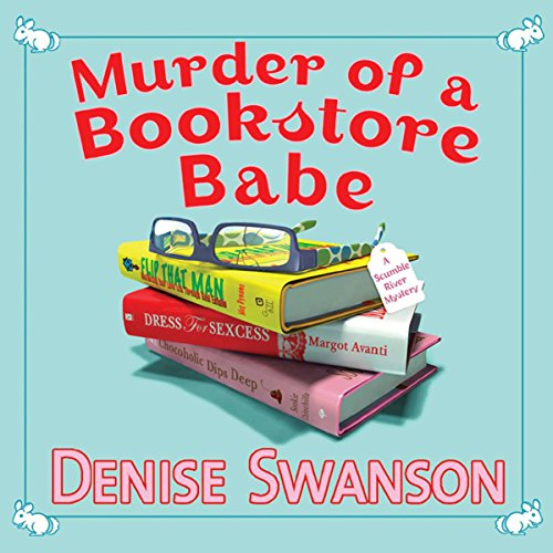 Murder of a Bookstore Babe audiobook cover art