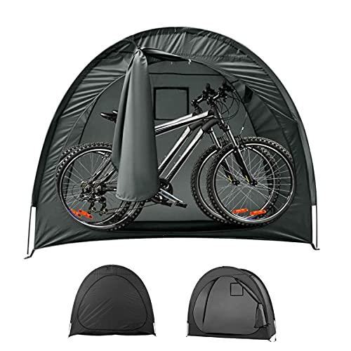 Carpa Bicicletas Cobertizo Impermeable Tienda de Bicicletas, Tienda de cobertizo para Acampar Aire Libre Almacenamiento