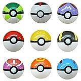9 Piezas Pokemon Pokeball Master Ball,...