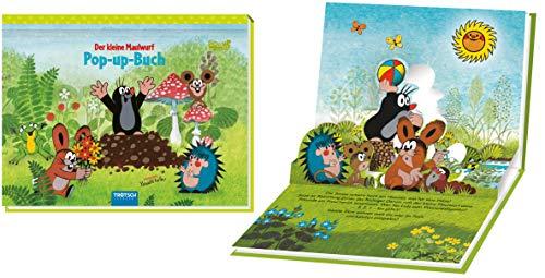 """Mini-Pop-Up-Buch """"Der kleine Maulwurf"""": 18 x 14 cm: Entdeckerbuch Beschäftigungsbuch"""