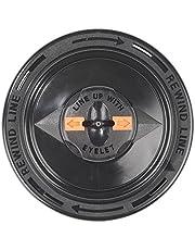 DOLMAR 381244240 381224240-Cabezal de Nylon para desbrozadoras Tipo t&g m10 Hilo 2.4x113 mm, Negro