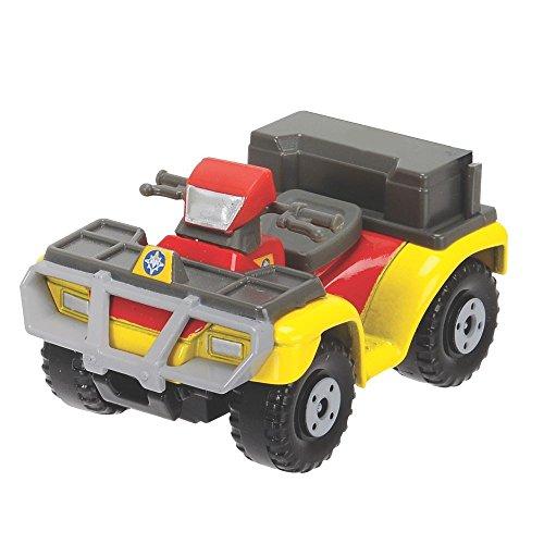 Sam El Bombero - Fireman Sam - Die Cast Mini Serie - Vehículo SUV Quad Mercury