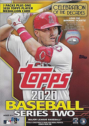 2020 Topps Baseball Series 2 Retail Relic Box