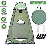 Shower Privacy Toilet Tent,Portable Pop Up Privacy Changing Dressing tents,Beach Camping Toilet Shower Changing Room Spacious Outdoor Shelter with Carrying Bag
