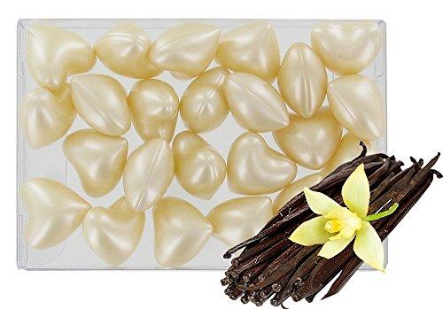 Caja 24 perlas aceite baño fantasías - Corazón