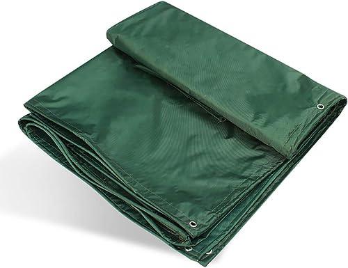 L-BHQF épaississez la bache imperméable de bache de Camping imperméable de bache renforce l'ombre de Soleil antipluies extérieure 450g (Taille   6m×8m)