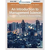 CengageNOWv2 1 term Printed Access Card for Anderson/Sweeney/Williams/Camm/Cochran/Fry/Ohlmann's An Introduction to Management Science: Quantitative Approach 15th【洋書】 [並行輸入品]