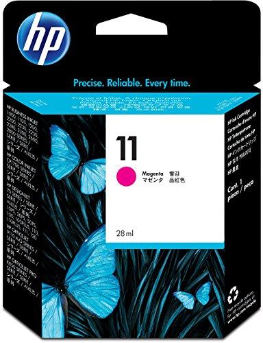 HP 11 C4837A, Magenta, Cartucho de Tinta Original, de 2.550 páginas, para impresoras HP Business InkJet serie 1100, 1200, 2200, 2300 y OfficeJet serie 9100