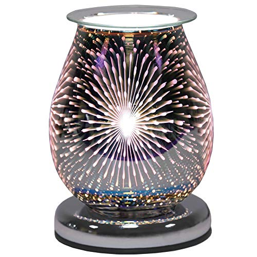 Aroma Accessories Oval 3D Electric Wax Melt Burner - Fountain