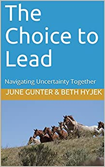 The Choice to Lead: Navigating Uncertainty Together (Kindle Publishing) by [June Gunter Ed.D., Beth A. Hyjek]