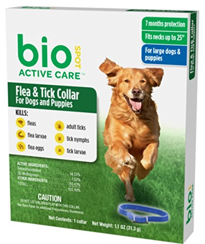 BioSpot Active Care Flea and Tick Collar for Large...