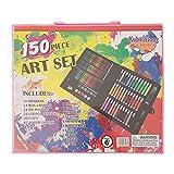 BULABULA 86/150Pcs/Set de herramientas de dibujo con caja de pinceles de pintura, marcador de acuarela para niños