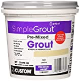 Custom PMG122QT 1-Quart Simple Premium Grout,...