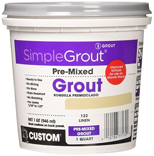 Custom PMG122QT 1-Quart Simple Premium Grout,...