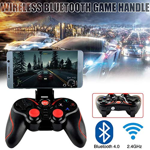 Childlike Mando De Juego Joystick para Teléfono Inalámbrico, We-8266 Bluetooth Wireless Gamepad para Android iOS Smartphone, para Pubg/Cuchillos out/Reglas De Supervivencia/Fortnite/Survivor/Royale