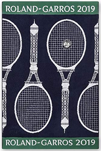 Roland Garros 2019 on Court Men Tennis Handtuch Sport Handtuch