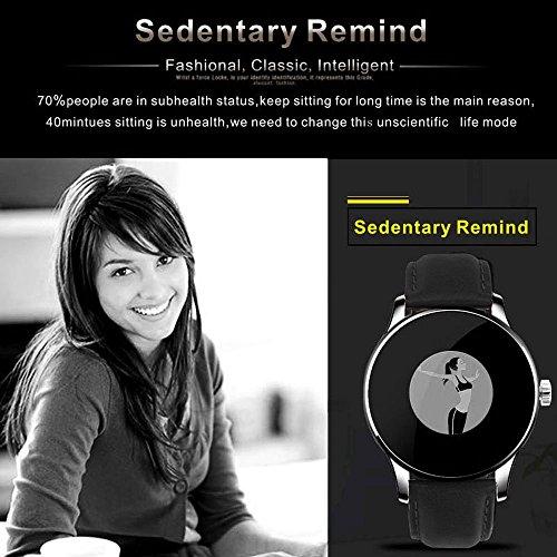 KKmoon K88H Smartwatch Bluetooth para Smartphone iOS 7.0 Android ...
