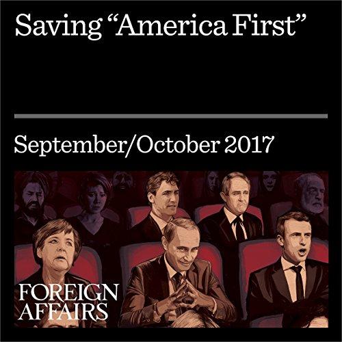 Saving 'America First' audiobook cover art