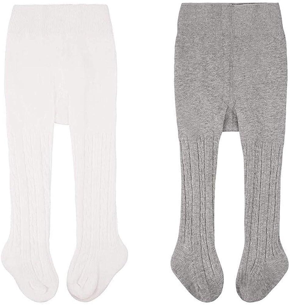 Baby Toddler Tights Knit Cotton Pantyhose Dance Leggings Pants Stockings for Girl