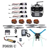 QWinOut High-Powered DIY GPS Drone S500 PCB APM GPS M8N 700KV 30A 4400MAH 30C 4-Axis Aircraft Racer with Camera Gimbal PTZ (NO Gimbal)