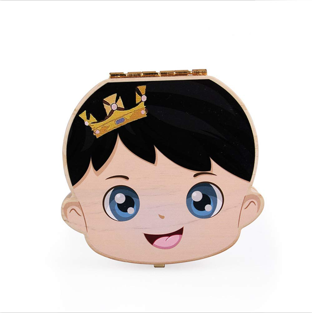 Yonger Baby Tooth Box Wooden Souvenir Teeth Milk Free Shipping Cheap Bargain Max 64% OFF Gift Save