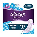Always Discreet pads - absorb 4X more than period sanitary pads of similar size Absorbent incontinence pads for women that always ship discreetly Experience incredible bladder protection in a surprisingly thin incontinence pad RapidDry core turns liq...