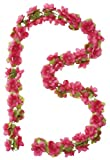 Basil Blumengirlande Flower Garland Fuchsia One Size
