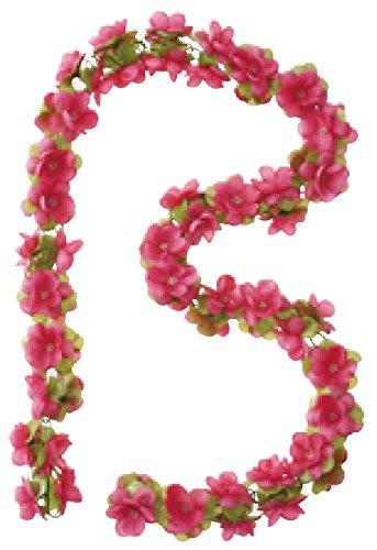Basil Flower Garland Blumengirlande, Polyester, Fuchsia, One Size