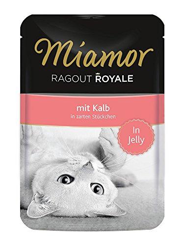 Miamor Ragout Royale Kalb, 22er Pack (22 x 100 g)