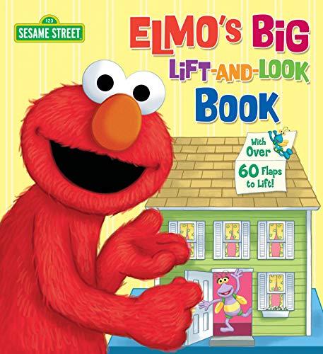 Elmo's Big Lift-and-Look Book (Sesame Street) (Great Big Board Book)の詳細を見る