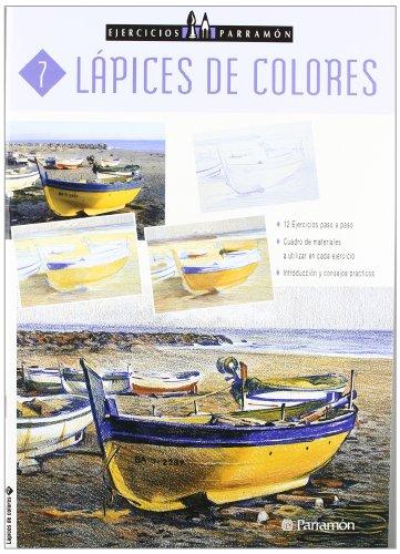 Ejercicios Parramón Lápices de colores