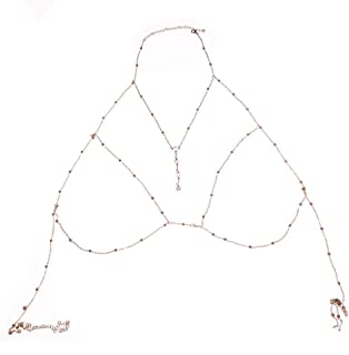 bralette body chain