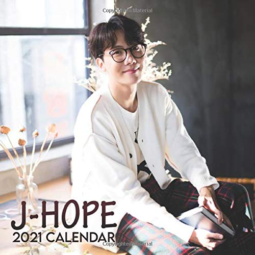 J-Hope 2021 Calendar: 12-Month 2021 Calendar with Beautiful J-Hope Photographs